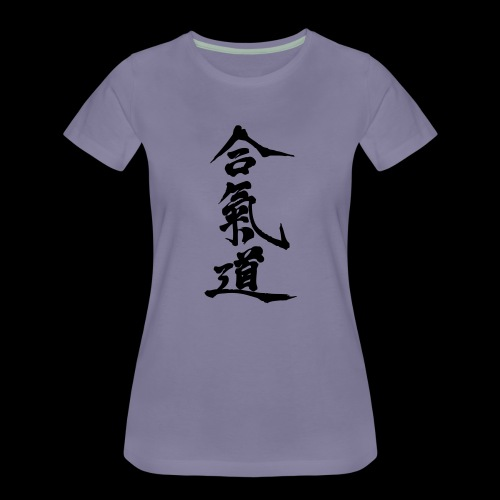aikido_wektor - Koszulka damska Premium