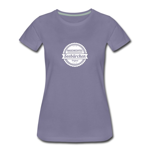 Waschechtes Seebärchen - Frauen Premium T-Shirt
