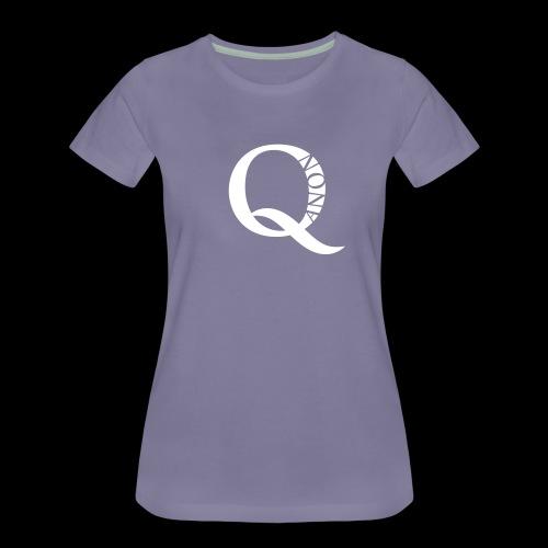 Q Anon Q-Anon Original Logo - Frauen Premium T-Shirt
