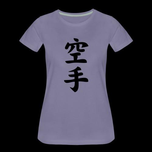 karate - Koszulka damska Premium