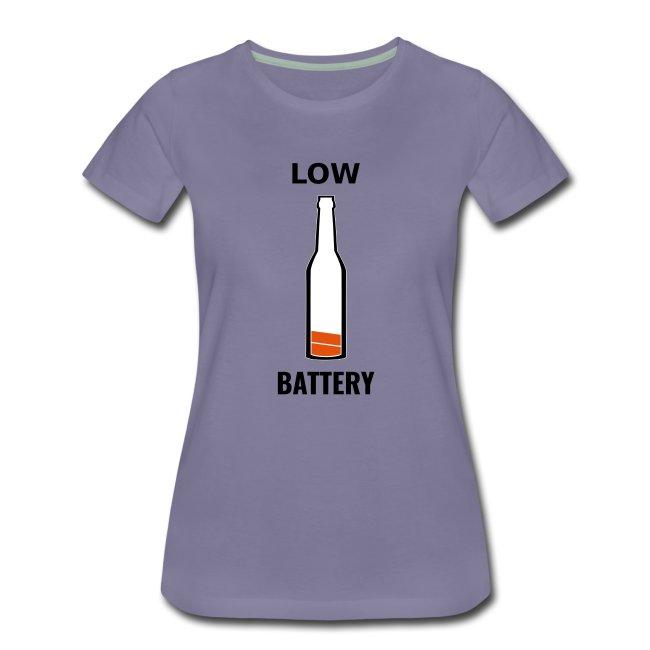 Beer Low Battery