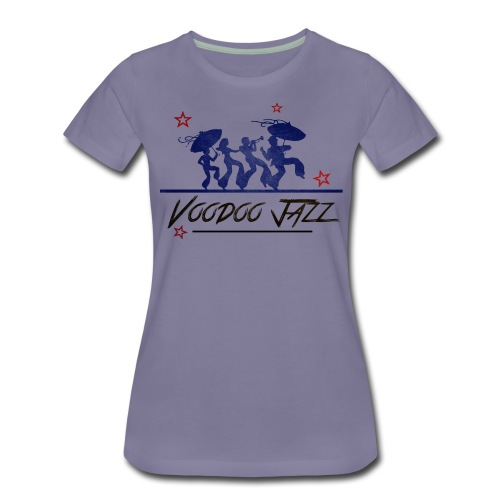 Jazz band vintage - T-shirt Premium Femme