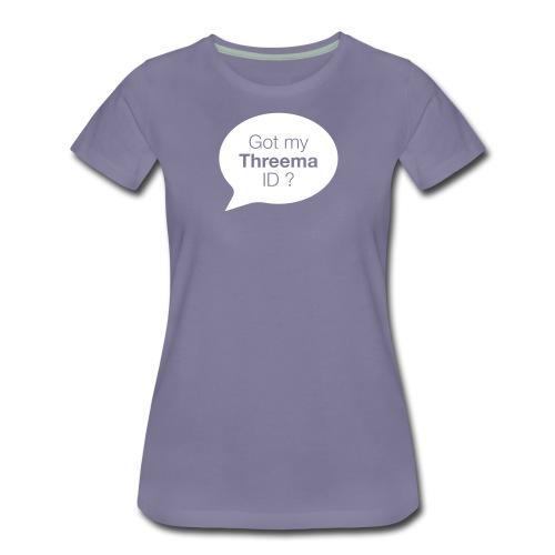 Sprechblase - Frauen Premium T-Shirt