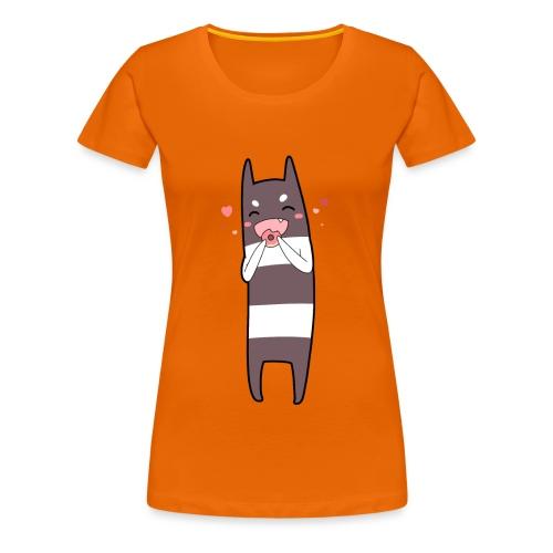 Donut Monster - Women's Premium T-Shirt