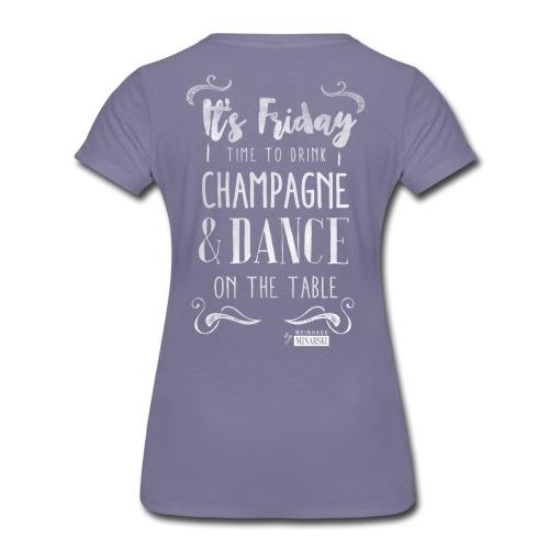 Friday weiss png - Frauen Premium T-Shirt