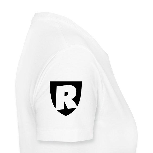 Tygkasse logga vit/svart