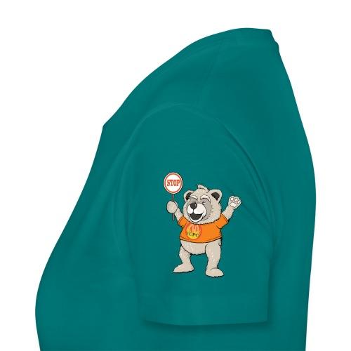 FUPO der Bär. Druckfarbe bunt - Frauen Premium T-Shirt