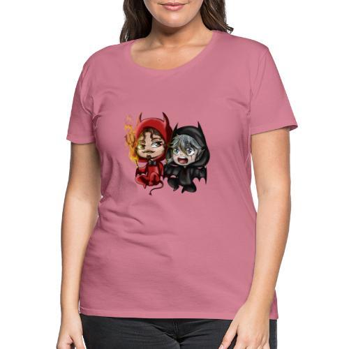 Chibis Halloween - T-shirt Premium Femme