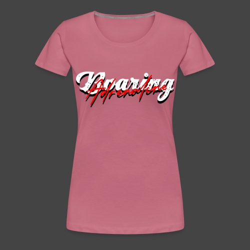 boaring adrenaline push - Frauen Premium T-Shirt