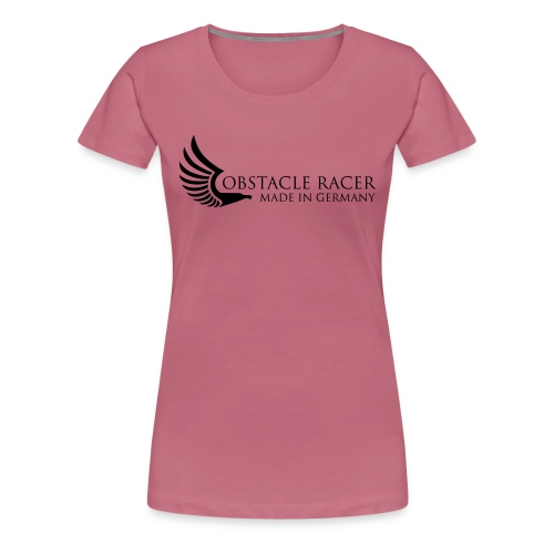 O-Racer made in Germany dunkelgrau - Frauen Premium T-Shirt