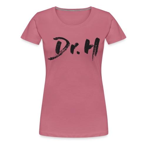 Casquette blanche Dr. H - T-shirt Premium Femme