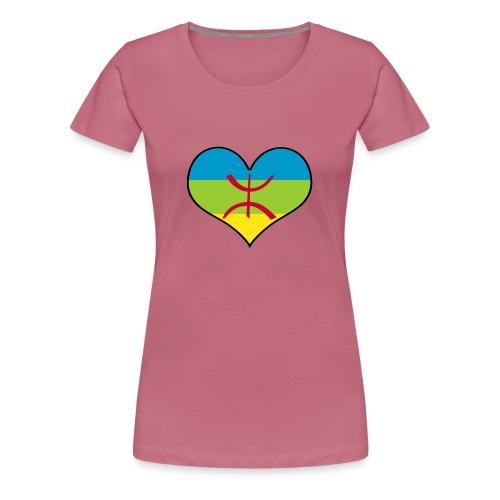 I LOVE AMAZIGH - T-shirt Premium Femme