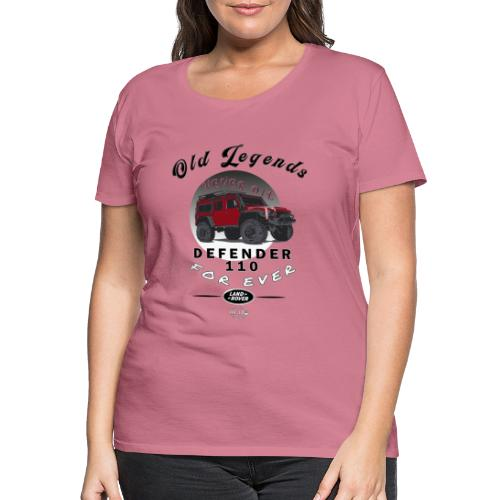 Old Legends - Defender - Camiseta premium mujer