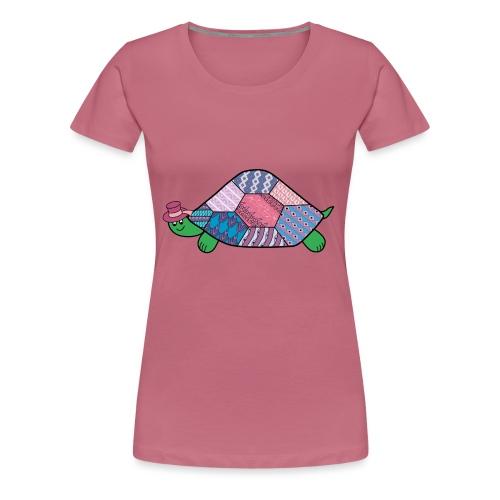 purple tortoise - Women's Premium T-Shirt