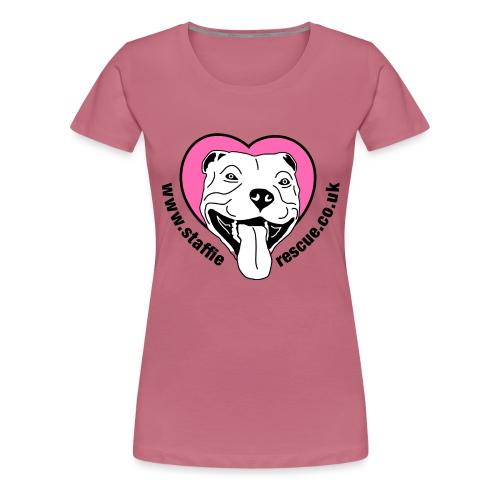 Staffie Rescue - Women's Premium T-Shirt