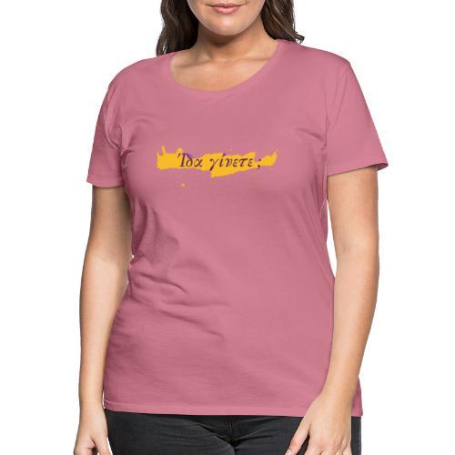 ida jinete - Frauen Premium T-Shirt