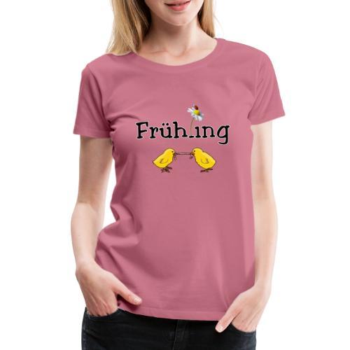 Tschüss Winter - endlich Frühling! - Frauen Premium T-Shirt