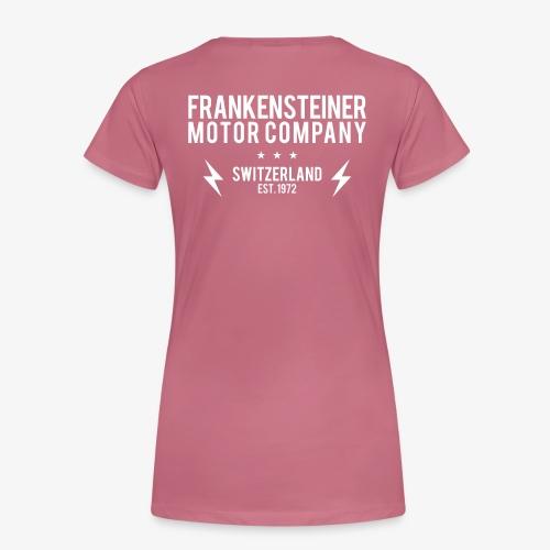 Frankensteiner Motor Company - Frauen Premium T-Shirt