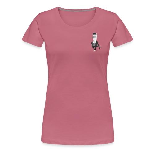 Gentle Llama - Dame premium T-shirt