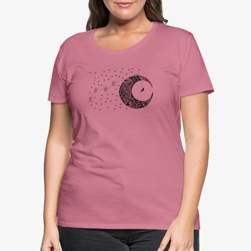 Dream your routes - Women's Premium T-Shirt