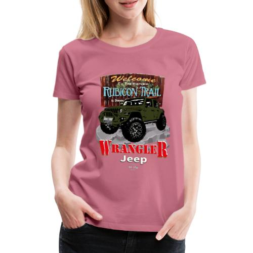 WRANGLER Rubicon Trail - Camiseta premium mujer