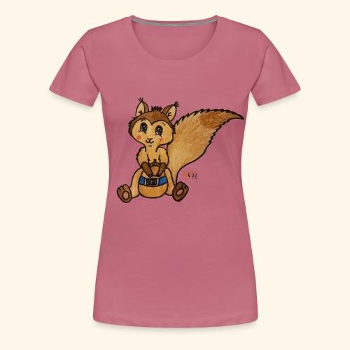 zuckereichhörnchen frei - Frauen Premium T-Shirt