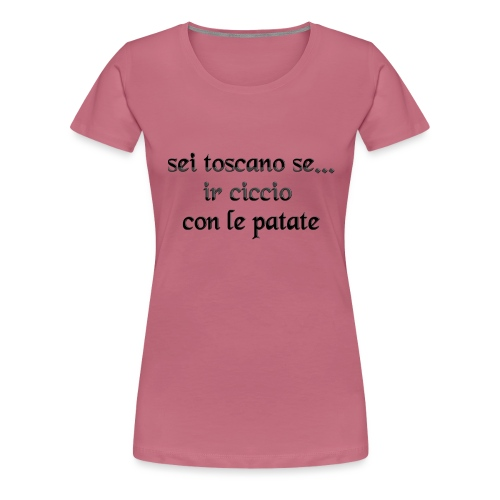 toscana - Maglietta Premium da donna