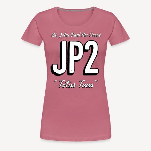 JOHN PAUL 2 - Women's Premium T-Shirt