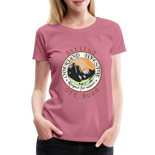 24 Overland LifeStyle - Camiseta premium mujer