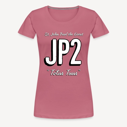 JOHN PAUL 2 - Women's Premium T-Shirt