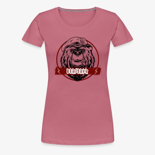 Berserkr Big Boss Bear - Women's Premium T-Shirt