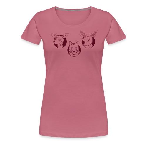Weidmannsheil - Frauen Premium T-Shirt