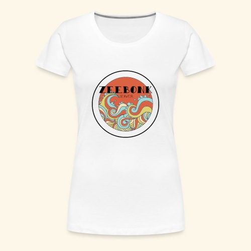 zeebonkwaves - Vrouwen Premium T-shirt
