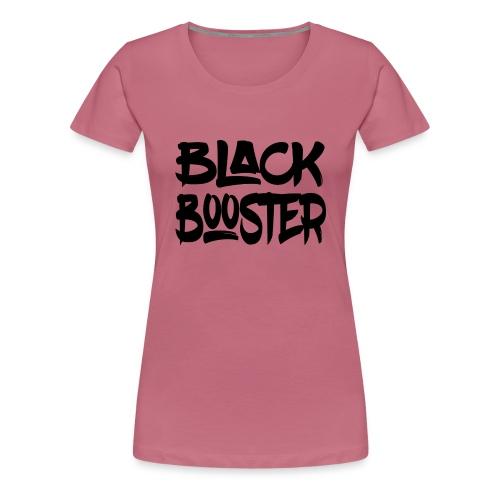 Black booster - Women's Premium T-Shirt
