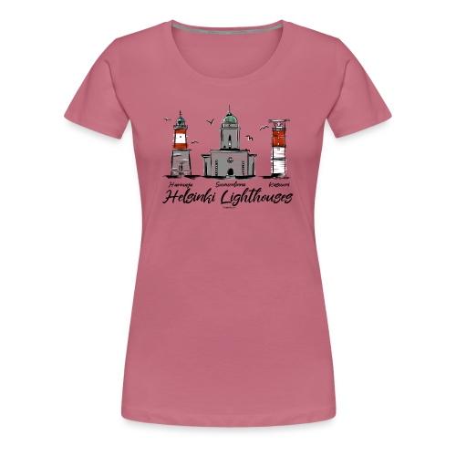 HELSINGIN MAJAKAT - MERELLISET MAJAKKATUOTTEET - Naisten premium t-paita