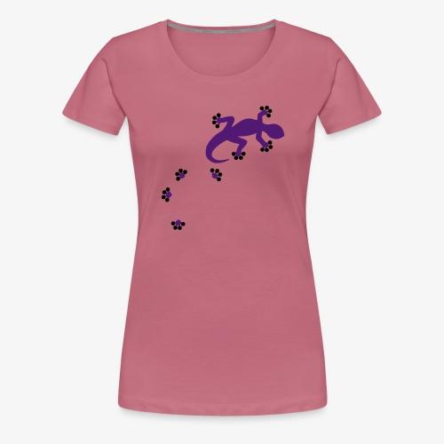 Gecko - 2c - Frauen Premium T-Shirt