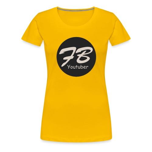 TSHIRT-YOUTUBER - Vrouwen Premium T-shirt