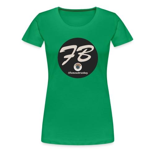TSHIRT-INSTATUBER-METLOGO - Vrouwen Premium T-shirt