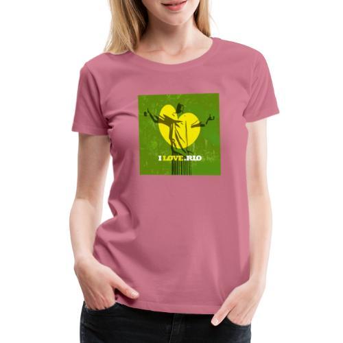 ILOVE.RIO MATA ATLANTICA - Women's Premium T-Shirt