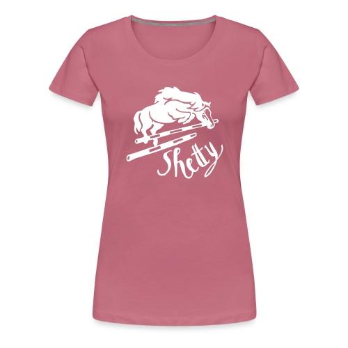 Shetty Sprung - Frauen Premium T-Shirt
