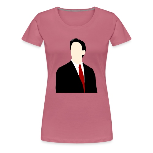 Ed Miliband silhouette - Women's Premium T-Shirt