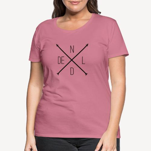 NOTRE DAME DE LOURDES - Women's Premium T-Shirt