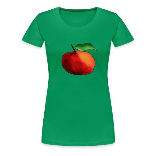 mela-png - Maglietta Premium da donna