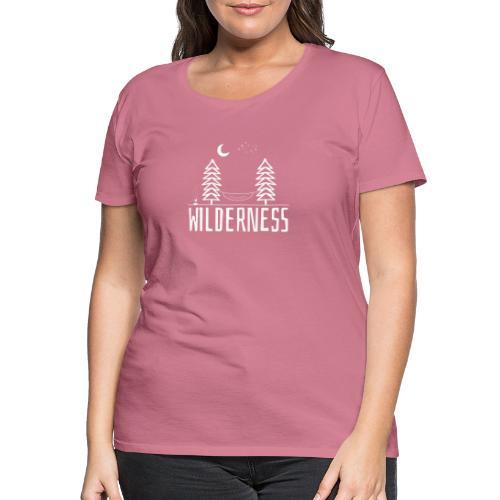 Wilderness white - Women's Premium T-Shirt
