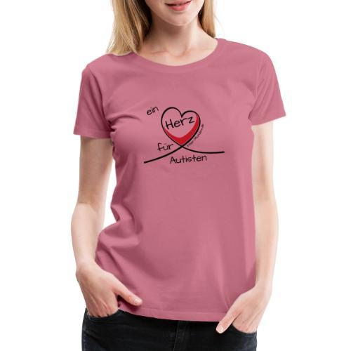 Ein Herz für Autisten - Frauen Premium T-Shirt