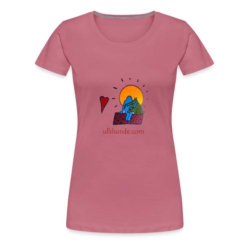Ullihunde - Logo RETRO - Frauen Premium T-Shirt