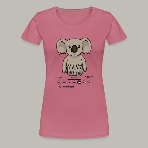 Koala & Co - T-shirt Premium Femme
