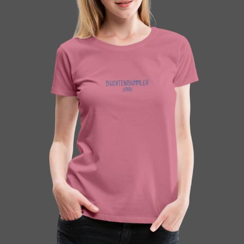 Buchtenbummler Schiff vor Anker in der Bucht - Frauen Premium T-Shirt