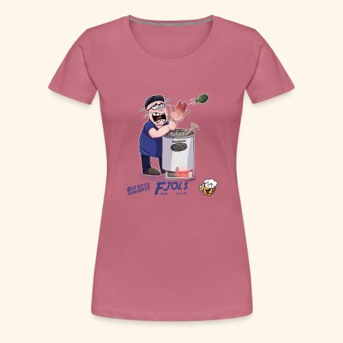 Fjols - Dame premium T-shirt