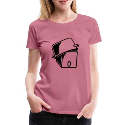 Pot Head - Dame premium T-shirt